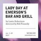 LADY DAY AT EMERSON'S BAR AND GRILL at Actors Theatre Of Louisville Adds Performance by Popular Demand