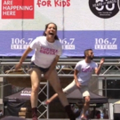 BWW TV: FUERZA BRUTA Livens Up Broadway in Bryant Park!