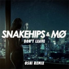 18 year old Oshi Remixes Snakeships & MO's new single 'Don't Leave'