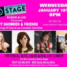 AMY SNOWDEN AND FRIENDS to Headline Comedy Central Stages This Week
