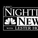 NBC NIGHTLY NEWS WITH LESTER HOLT Wins 19th Consecutive Season Across the Board