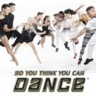 SO YOU THINK YOU CAN DANCE Tour to Return to Wharton Center This Fall