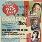 Jeff Allen and More Set for THE CHRISTIAN COMEDY SHOW This Fall