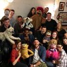 Photo Flash: Jack Gleeson and Cast of Bears in Space Visit AVENUE Q
