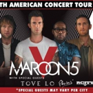 Maroon 5 Will Return to the Road With All New Fall 2016 Tour