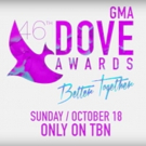 46th Annual GMA Dove Awards to Air Exclusively on TBN, 10/18