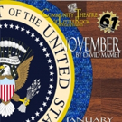 Open Auditions for CTLR's Winter Comedy NOVEMBER, by David Mamet