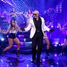 VIDEO: Pitbull Performs 'Fun', 'Time of Our Lives' on TONIGHT SHOW