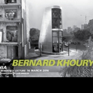 International Architect Bernard Khoury to Present at the Museum of Contemporary Art, 3/16