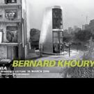 International Architect Bernard Khoury to Present at the Museum of Contemporary Art, 3/16