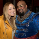 Photo Flash: Mariah Carey Visits ALADDIN on Broadway