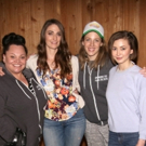 Photo Coverage: In the Recording Studio with Sara Bareilles and the Cast of WAITRESS!