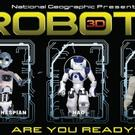 NatGeo Giant-Screen Film ROBOTS 3D to Premiere on IMAX This June