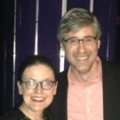 Photo Flash: Mo Rocca Visits Jennifer Simard at DISASTER! on Broadway