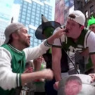 VIDEO: Jason Sudeikis and Billy Eichner 'Bro Out' at WICKED Tailgate Party!