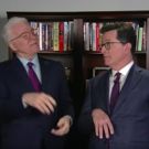 VIDEO: Stephen Colbert Signs Up for Master Class from Steve Martin