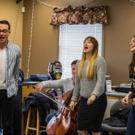 Photo Flash: AN AMERICAN IN PARIS Tour Stars Sing for Seniors in Denver