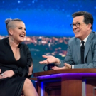 VIDEO: Kelly Osbourne Shares a 'High' Text From Dad Ozzy on LATE SHOW