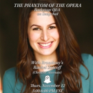 Snapchat with THE PHANTOM OF THE OPERA's Rachel Zatcoff Tomorrow!