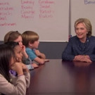 VIDEO: Jimmy Kimmel & Hillary Clinton Talk to Kids About Politics
