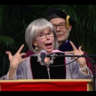 STAGE TUBE: Rita Moreno Breaks Into Rap During Berklee Commencement Ceremony