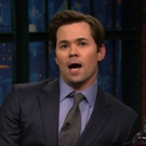 VIDEO: Andrew Rannells Talks FALSETTOS; Reads Political Bedtime Story on 'Late Night'