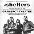 The Shelters to Play the Gramercy This November