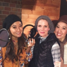 Exclusive Photo Coverage: The Leading Ladies of THE KING AND I Record Carols For A Cure!