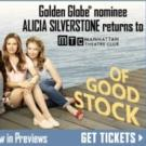 Alicia Silverstone returns to MTC - Tickets just $49 for 'Of Good Stock'