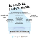 BWW Review: Eyles & Gould's AS LONG AS I HAVE MUSIC Album