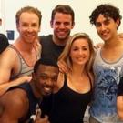 First Look At Cast In Rehearsal For SMASH Reunion BOMBSHELL Actors Fund Concert