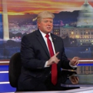 VIDEO: Watch 'President Trump' Crash THE DAILY SHOW