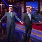 VIDEO: HAMILTON's Jonathan Groff Teaches Stephen Colbert the King George Walk