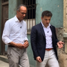 Lester Holt Interviews AIRBNB CEO Brian Chesky in Havana, Cuba for NBC'S 'ON ASSIGNMENT'