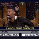 VIDEO: Jamie Foxx Puts Broadway Spin on 'Who Let the Dogs Out?'
