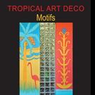Marine Carrington Shares TROPICAL ART DEDO MOTIFS