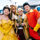 Photo Flash: BEAUTY AND THE BEAST Cast Perform 'Crosswalk the Musical' on CORDEN