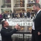 STAGE TUBE: 'Love Changes Everything' in Surprise Proposal on Lincoln Center Plaza