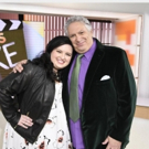 PHOTO: Harvey Fierstein Welcomes HAIRSPRAY LIVE! Star Maddie Baillio