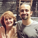 Photo Flash: The Rosarios are Back in Town! Lin-Manuel Miranda Reunites with IN THE HEIGHTS Co-Stars at Richard Rodgers Theatre