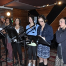 Exclusive Photo Coverage: AT THIS PERFORMANCE Records Track for Carols For A Cure