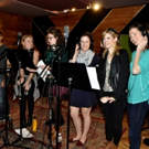 Exclusive Photo Coverage: HOLIDAY INN Cast Channels Their Holiday Spirit for Carols For A Cure
