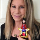 Barbra Streisand Poses with Her Broadway Legends Ornament; Selling Fast!