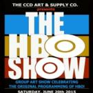 HBO-Inspired Art Set for Group Show at CCD Art and Supply Co., 6/20