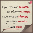 Fitness Tip of the Day: Focus on Change