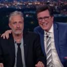 VIDEO: Jon Stewart Takes Over Colbert's LATE SHOW Desk