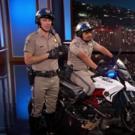 VIDEO: Dax Shepard & Michael Pena Stop by JIMMY KIMMEL to Share Trailer for CHIPs!