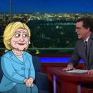 VIDEO: Stephen Colbert Recaps Day 2 of DNC, Interviews Cartoon Hillary