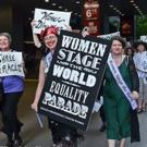 The League of Professional Theatre Women to Advocate for Equality with 6/9 Parade