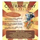 2nd Annual Coltrane Day Music Festival to Celebrate Community & Music